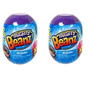New (7) Mighty Beanz